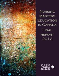 2012MastersEducationinCanada