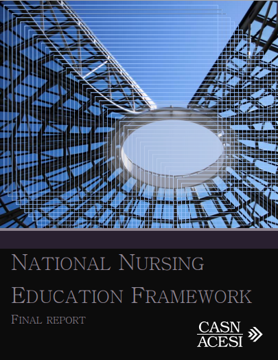 National Nursing Education Framework