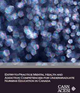 Entry-to-Practice Mental Health and Addiction Competencies for Undergraduate Nursing Education