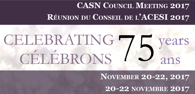CASN Council Meeting 2017 – REGISTER NOW!