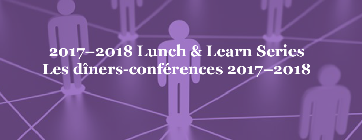 The 2017-2018 Lunch and Learn Series, Presented by the CASN Research and Scholarship Committee