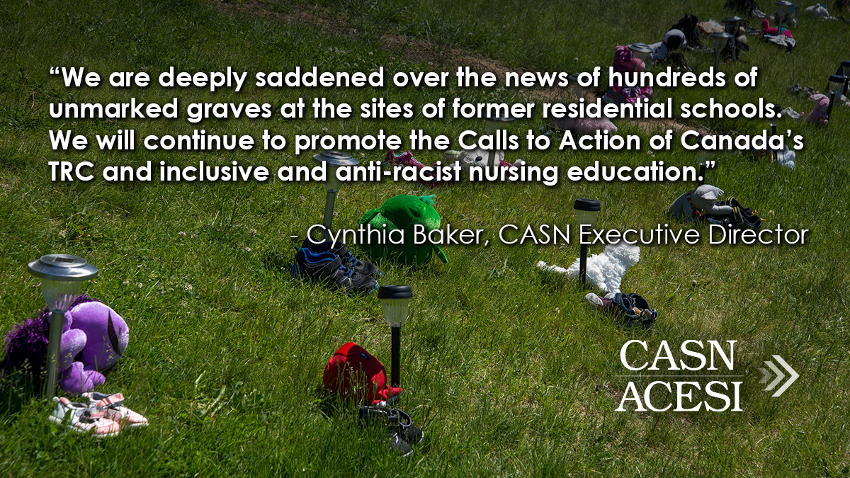 Canadian Association of Schools of Nursing/Statement of Commitment/Anti-Indigenous Racism