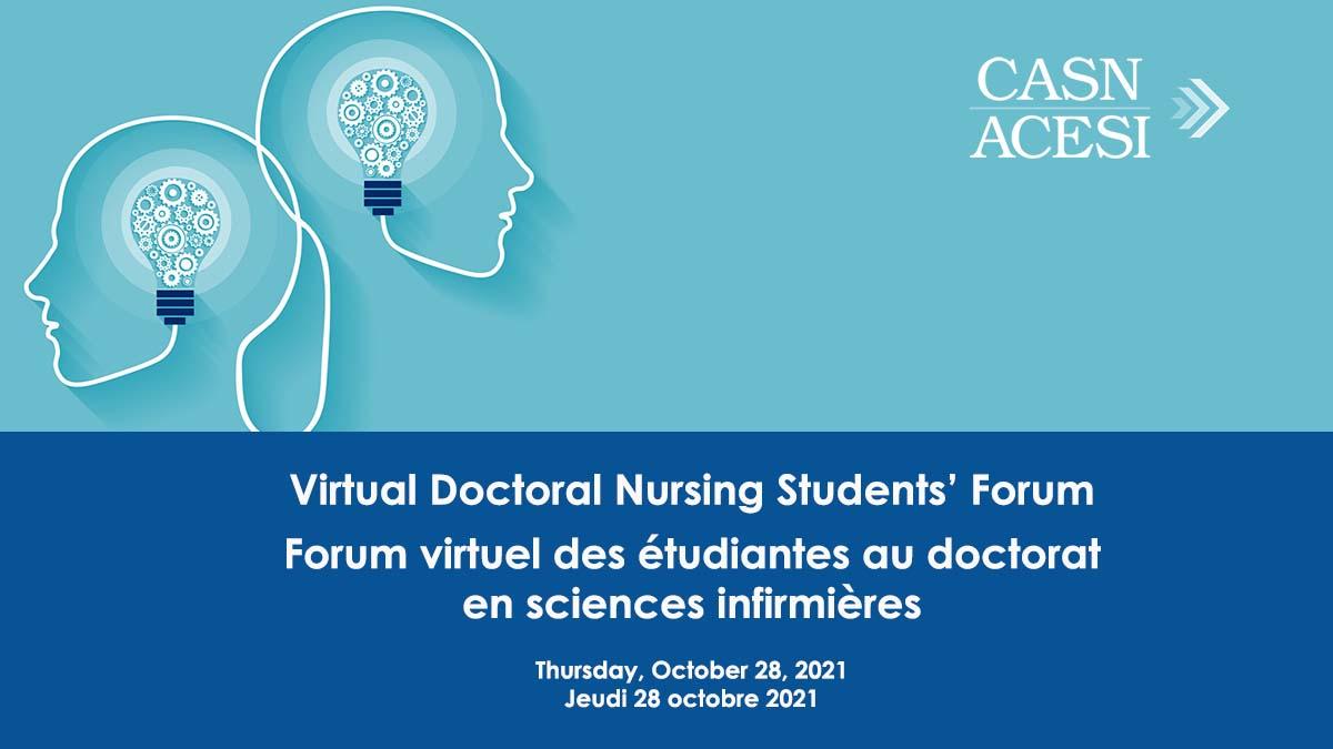 Virtual Doctoral Nursing Students' Forum