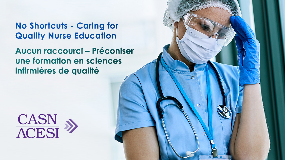 No Shortcuts – Caring for Quality Nurse Education