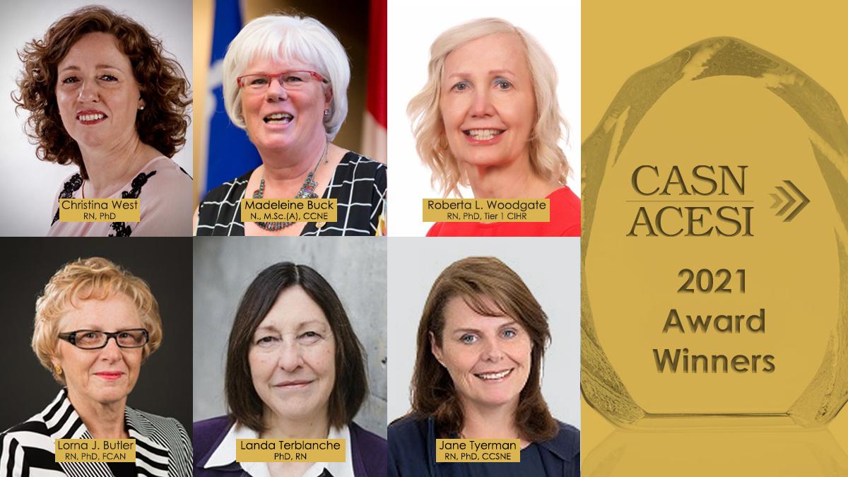2021 CASN Award Winners